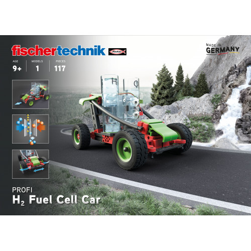 fischertechnik H2 Fuel Cell Car AVAILABLE AGAIN IN THE BEGINNING OF JUNE