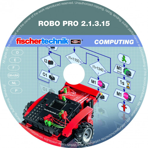 fischertechnik ROBO Pro Software for Windows - School License