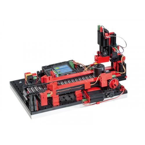 fischertechnik Punching Machine with Conveyor Belt TXT 9V