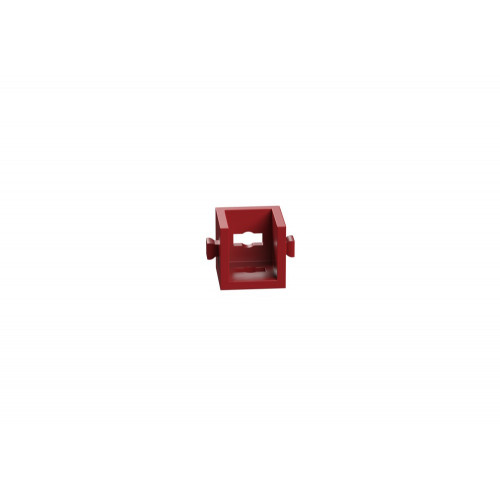 Angle Girder 15 With 2 Pins Red