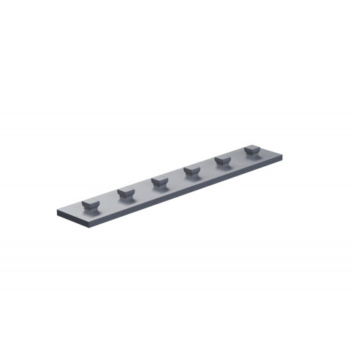 Base Plate 15X90 Silver