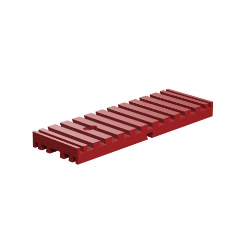 Bottom Plate 30 X 90 Red