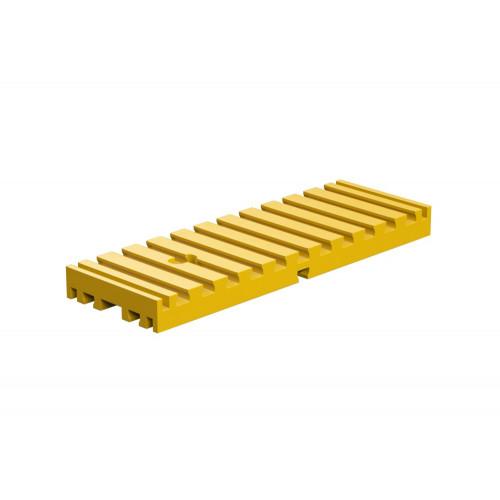 Bottom Plate 30 X 90 Yellow