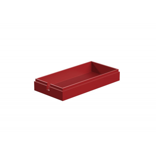 Cover For Battery Holder Red