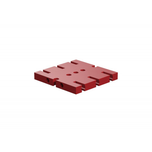 Base Plate 45X45 Red