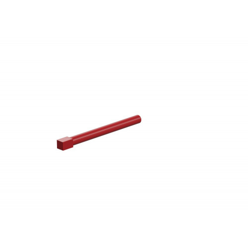 Axle 50 Red With Square